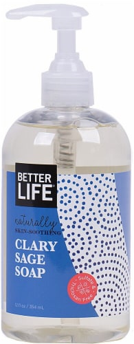 Better Life Clary Sage Hand Soap Perspective: front