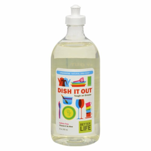 Better Life Dish It Out Unscented Dish Soap Perspective: front