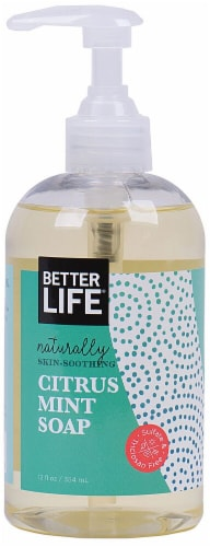 Better Life Citrus Mint Hand Soap Perspective: front