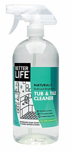 Better Life  Tub & Tile Cleaner Tea Tree & Eucalyptus Perspective: front