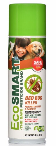 EcoSmart  Organic Bed Bug Killer for Mattresses and Carpets Perspective: front