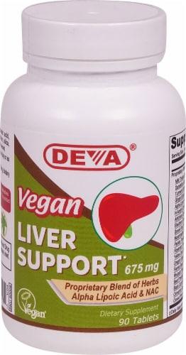 Deva  Vegan Liver Support Perspective: front