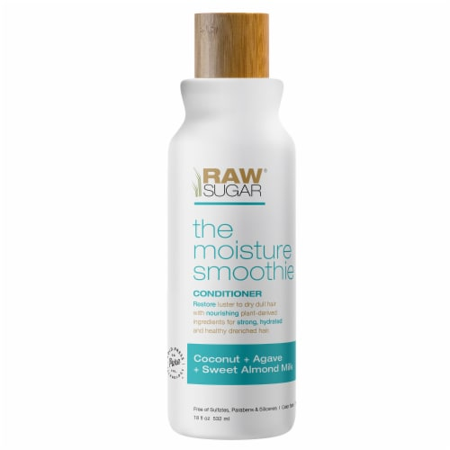 Raw Sugar The Moisture Smoothie Coconut + Agave + Sweet Almond Milk Conditioner Perspective: front