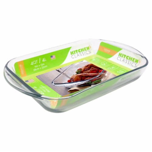 Libra 4 qt. Tempered Glass Baking Dish Perspective: front