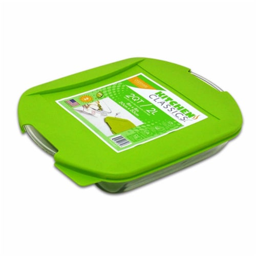 Libra 8 in. Square Bake Dish with Lid Perspective: front