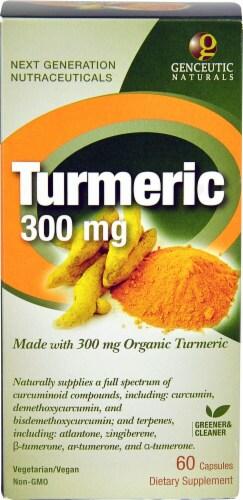 Genceutic Naturals  Organic Turmeric Perspective: front