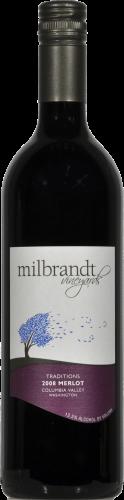 Milbrandt Tradition Merlot Perspective: front