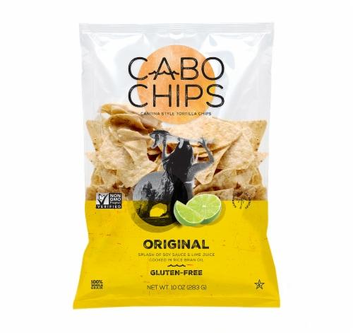 Cabo Chips Original Sea Salt & Lime Juice Corn Chips Perspective: front
