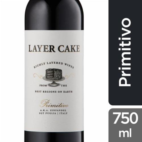 Layer Cake Primitivo a.k.a Zinfandel Perspective: front