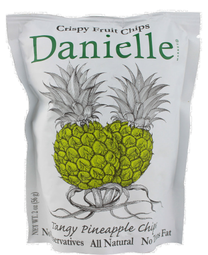 Danielle Tangy Pineapple Chips Perspective: front