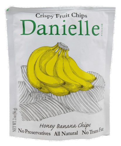 Danielle Honey Banana Chips Perspective: front