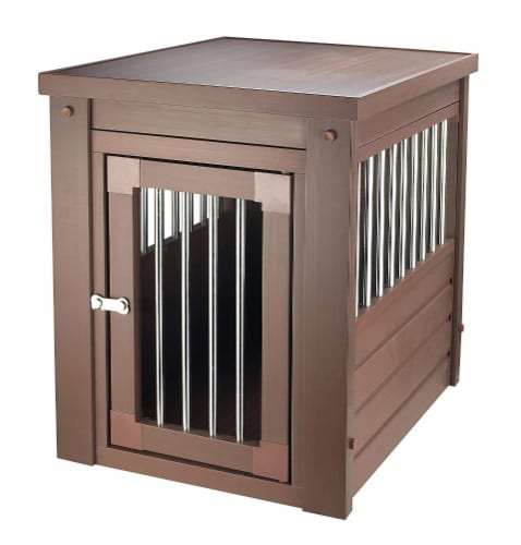 New Age Pet  Innplace Dog Crate - Russet Medium Perspective: front