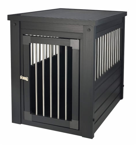 New Age Pet  Innplace Dog Crate - Espresso X-Large Perspective: front