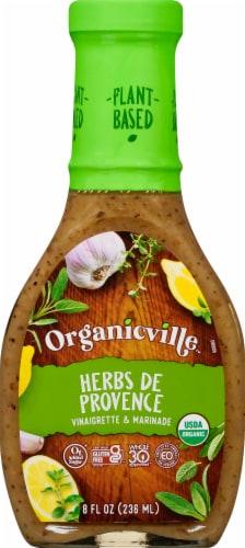 Organic Ville Herbs de Provence Vinaigrette Perspective: front
