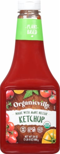 Organicville Organic Ketchup Perspective: front