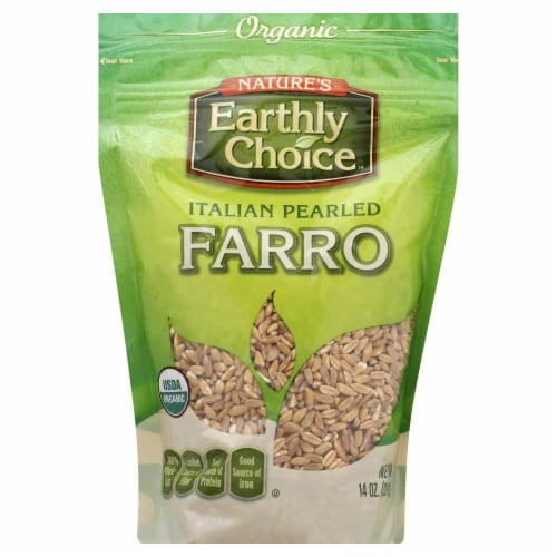 Nature's Earthly Choice Italian Pearled Farro Perspective: front