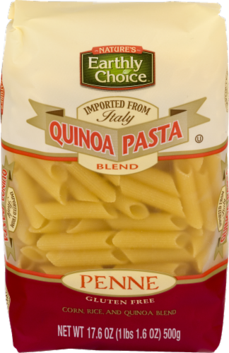 Nature's Earthly Choice Quinoa Pasta Penne Perspective: front