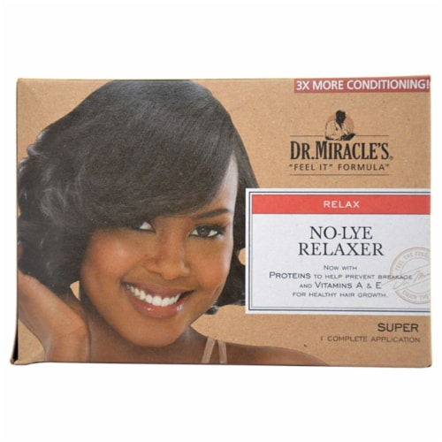 Dr. Miracle's No-Lye Regular Relaxer Perspective: front