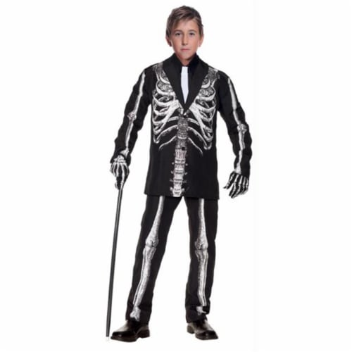 Costumes For All Occasions UR25856SM Bone Daddy Child 4-6 Perspective: front
