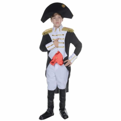 Morris UR25874LG Napoleon Child Costume, Size 10-12 Perspective: front