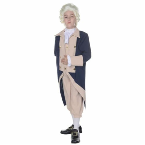Morris UR25880SM George Washington Child Costume, Small 4-6 Perspective: front
