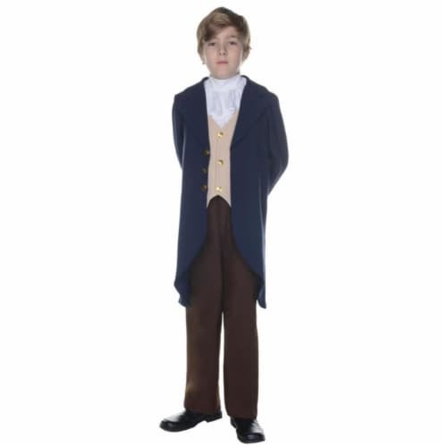 Morris UR25882LG Thomas Jefferson Child Halloween Costume, Size 10-12 Perspective: front