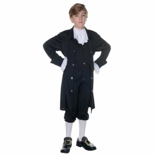 Morris UR25884MD John Adams Child Costume, Size 6-8 Perspective: front