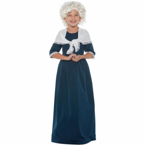 Morris UR25886SM Martha Washington Child Costume, Small 4-6 Perspective: front