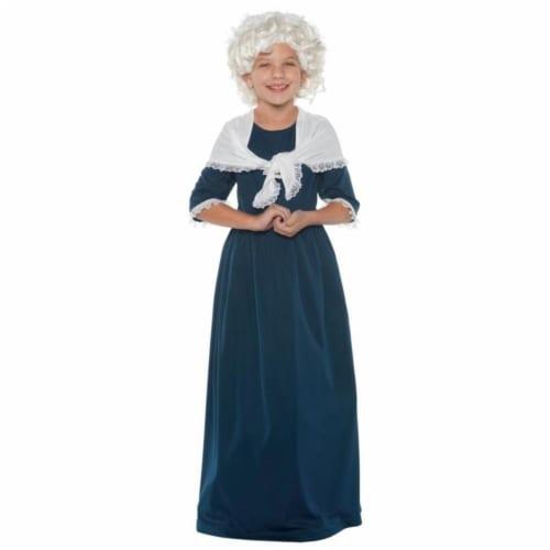 Morris UR25886MD Martha Washington Child Costume, Medium 6-8 Perspective: front