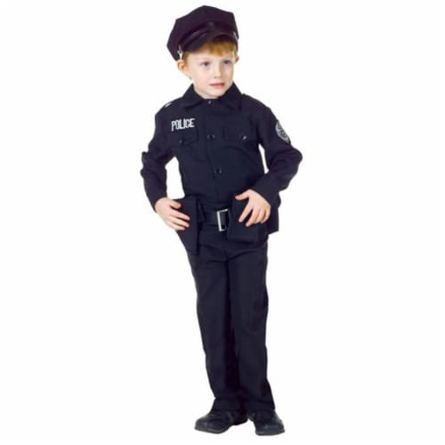 Costumes For All Occasions UR25912SM Policeman Set Sm 4-6 Perspective: front