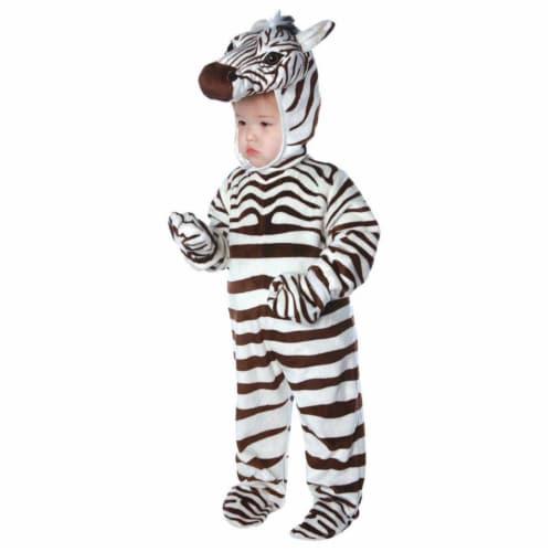 Underwraps UR26028TM Zebra Toddler Costume - 18-24 Months Perspective: front