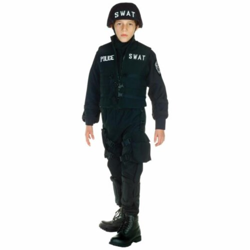 Costumes For All Occasions UR26087SM Swat Child Small 4-6 Perspective: front