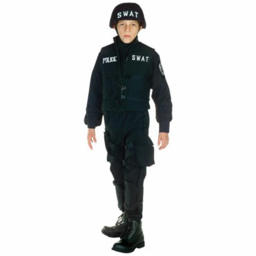 Costumes For All Occasions UR26087MD Swat Child Medium 6-8 Perspective: front