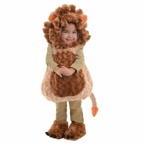 Morris Costumes UR26114TLG Lion Toddler Costume, Size 2T-4T Perspective: front
