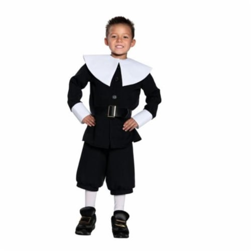 Costumes For All Occasions UR26946SM Pilgrim Boy Small Perspective: front