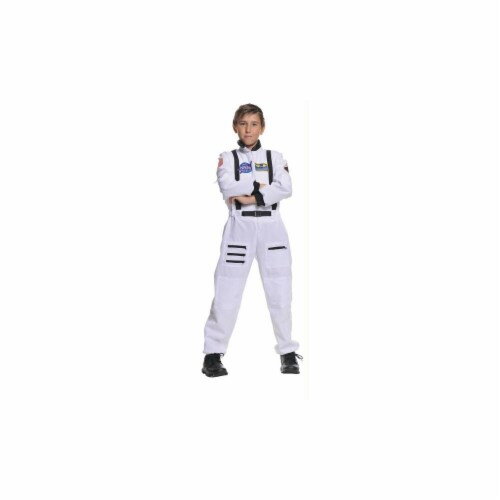 Costumes For All Occasions UR26982SM Astronaut White Child 4-6 Perspective: front