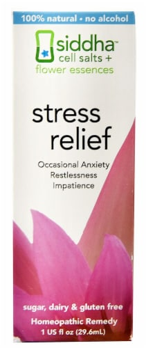Living Flower Essences  Siddha™ Stress Relief Perspective: front