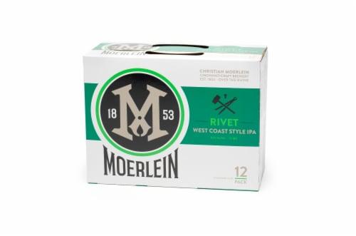 Christian Moerlein Rivet West Coast Style IPA Beer Perspective: front