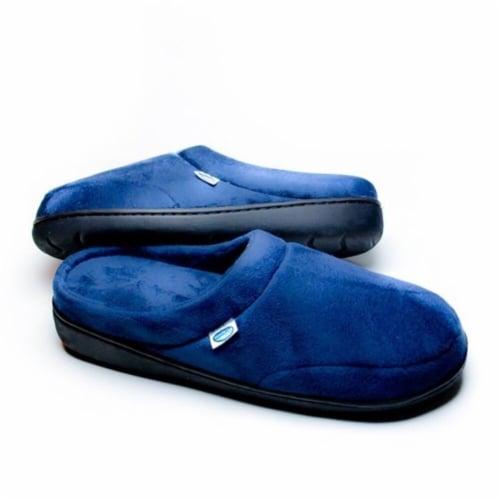 Elite Comfort Pedic Memory Foam Slippers - Small ( M 6-7 W 6.5-8.5) Perspective: front