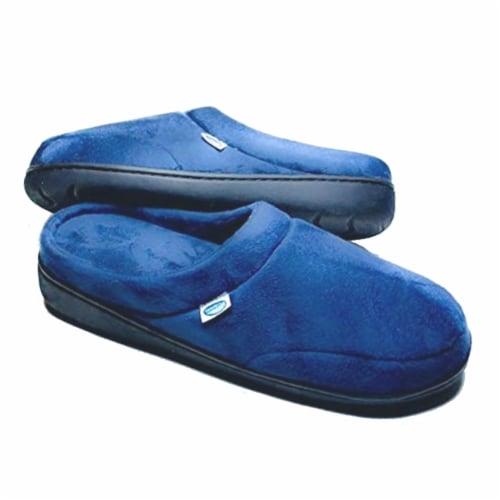 Elite Comfort Pedic Memory Foam Slippers- Medium (M 7.5-8.5/ W 9-10.5) Perspective: front