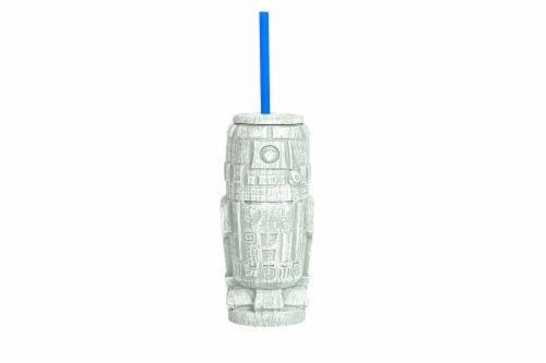 Geeki Tikis Star Wars R2-D2 Plastic Tumbler   Holds 21 Ounces Perspective: front