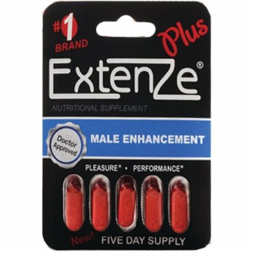 Extenze Plus Fast Acting Male Enhancement Perspective: front