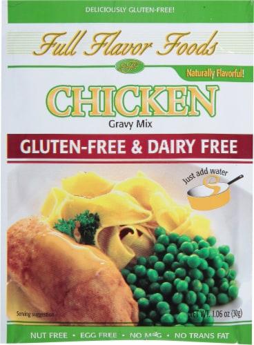 Full Flavor Foods Gluten-Free Chicken Gravy Mix Perspective: front