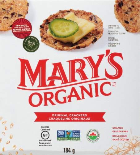 Mary's Gone Organic Original Crackers Perspective: front
