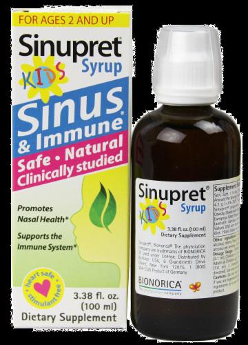 Sinupret Sinus & Imm Spray Perspective: front