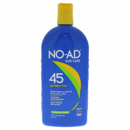 NO-AD Sunblock Lotion SPF 45 Perspective: front