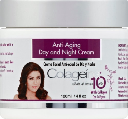 Colageina Anti Aging Day and Night Cream Perspective: front