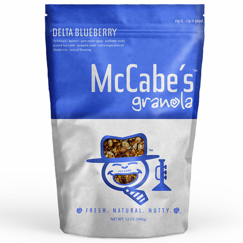McCabe's Delta Blueberry Granola Perspective: front