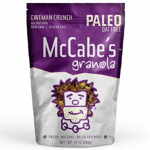 McCabe's Caveman Crunch Granola Perspective: front