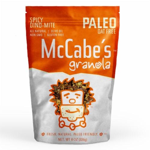 McCabe's Paleo Oat-Free Spicy Dino-Mite Granola Perspective: front